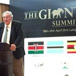Icon of #Kenya conservation, Richard Leakey, says vital to destroy #ivory stockpiles. Big burn in Kenya tomorrow. https://t.co/05xfXD3iXD