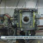 UW-Madison researchers develop explosive detecting #technology https://t.co/dcgENrzBDH #tech https://t.co/TQRRgC2xGJ