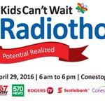 #KidsCantWait #Radiothon in support of @KidsAbility is today. Link to donate here > https://t.co/wNeASux0Gl https://t.co/LfAy7acPjo