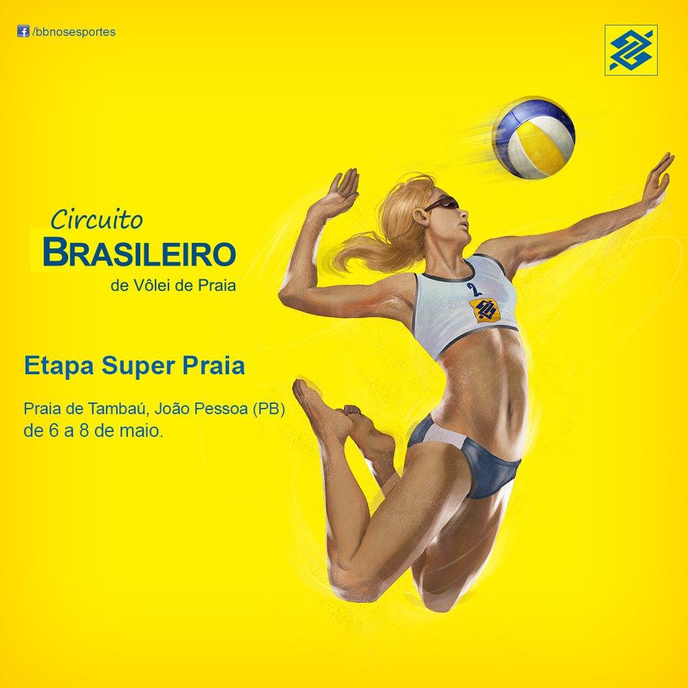As melhores duplas do ranking já estão prontas para disputar o Superpraia. \\o// #TorcidaBrasil