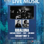 Join us #rioaluna @HRCMiami May 3rd 8pm Tuesday night W Special Guests and Artists #music #miami #songwriters https://t.co/iyEMQ00qYV