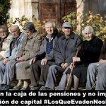 La hucha de las pensiones se vacía...se llevan los dineros...no pagan impuestos #LosQueEvadenNosRoban https://t.co/hBcW4SL5E5