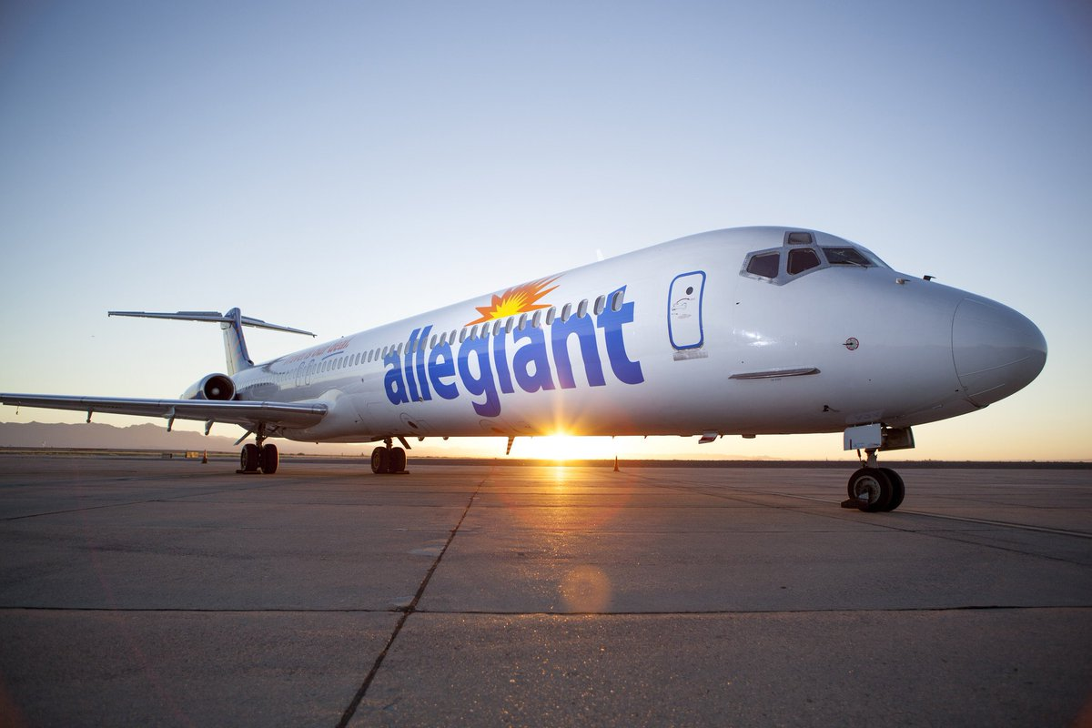 RT @BaltSunBrk: Allegiant Air flights begin departing from BWI Friday