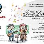 Te invitamos al Taller De Música. Dirigido a niños y jóvenes de 8 a 17 años. #Cuernavaca https://t.co/fljp9TOcvI