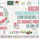 Te invitamos al MOMS Fest del 7 al 8 de Mayo. #Cuernavaca https://t.co/c8UKf3SdVm