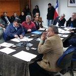 "Profesor @ucscconcepcion Pedro Tume expone informe ""metales pesados en suelos de Talcahuano"" ante Concejo Municipal https://t.co/BPxOTTalph"