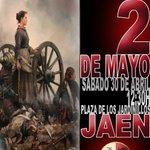 Mañana a las 12:30 horas homenaje a los héroes del dos de mayo en la plaza de los Jardinillos #Jaen   ¡Os esperamos! https://t.co/s0Ew1WeKvp