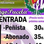(Cambio Horario)La semana que viene venta viaje a Vitoria, miercoles y jueves de 18 a 20 horas en FPRV. Ya un bus!!! https://t.co/wvv4N8cMFB