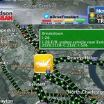 6:43 am --> Disabled vehicle on I-26 at the 526 interchange. No major delays as of now. #chstrfc @WCBD https://t.co/PyDHkvdkSj