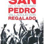 Del 12 al 15 de mayo, #Fiestas de #SanPedroRegalado en #Valladolid. Os dejamos el programa: https://t.co/BnugmdvEAP https://t.co/ft7zEWCqEV