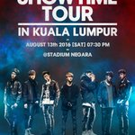 [iKON - iKONCERT 2016 SHOWTIME TOUR IN KUALA LUMPUR] Stay tuned for more information ! https://t.co/0z29fwMpax