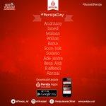 Line Up Persija. Pukul 21.00 WIT (19.00 WIB) live SCTV  #RumaPersija #GuePersija #PersijaDay  #TSC2016ID https://t.co/eTrPKdwom8