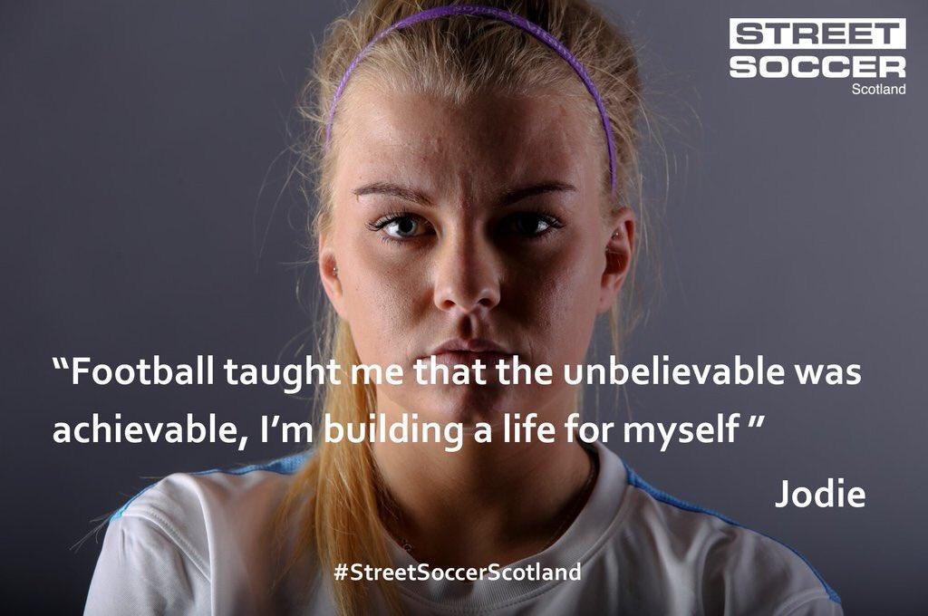 RT @ScotWFootball: Jodie, New Asst Coach of the Scotland Womens HomelessWorldCup Team with @streetsoccerSCO - htt…