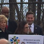.Moving ceremony yesterday @ #DayOfMourning 4 Fallen Italian Workers- Beautiful words @cafreeland #cdnpoli https://t.co/Q6f43cf9DQ