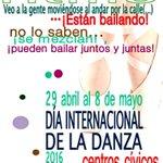 Los #CentrosCívicos de #Valladolid celebran el #DíaInternacionalDeLaDanza https://t.co/RcDd0eF99a https://t.co/T2WQM0y3sO