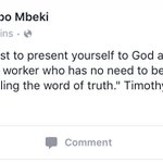 Mbeki subtweeting with a Bible verse 😂😂🙌🏽 #SpyTapes https://t.co/kydsLiqwWY