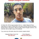 Police will be canvassing Dartmouth area today in relation to Joseph Cameron homicide https://t.co/hnbVw3XfNl https://t.co/6jiR3PG03i