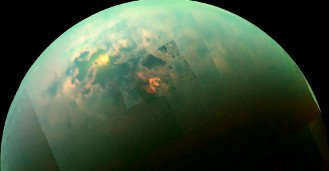 Cassini Explores a Methane Sea on Titan- A new study finds that a large sea on ... - https://t.co/Mz7xnxnHga https://t.co/qbRfIorpkR