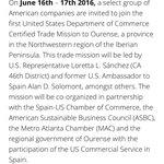 📅 16-17 Xunio 2016 @TM_Ourense e @Export2Europe  web : https://t.co/ThwEYLcuUd https://t.co/OrnKHq8voP