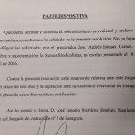 Juzgado Instrucción n° 1 de Zaragoza acuerda el sobreseimiento de la querella contra @roberfernandezg y @lolaranera https://t.co/wF00QiGA6Y