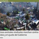 Macri lo hizo. por primera vez marchan las 5 centrales sindicales obreras juntas. https://t.co/OTSQTx29J3