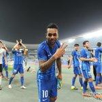 Teixeira celebrating the victory. https://t.co/qZnJxuZ7zg