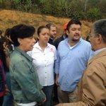 Familiares de @leopoldolopez, pdte y secretario AN en Ramo Verde #TuLibertadEsMiLibertad https://t.co/OARs53bejJ