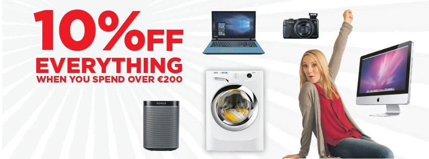 BIG Bank Holiday Savings You Won't Find Anywhere! EXTRA 10% Off when you spend over €200! https://t.co/IcEIjhEYwo https://t.co/wULrVbKS7c