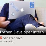 Python #Developer #Intern at #Work4 in #SanFrancisco #internship https://t.co/Gq0y7PHUEX #Paris https://t.co/7eY6yFDah5
