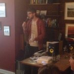 Great evening last night at the @ThePegTalks in @squarepegcoffee. Our producer @SimonParton gave a fab talk on music https://t.co/T0z75XmC6V