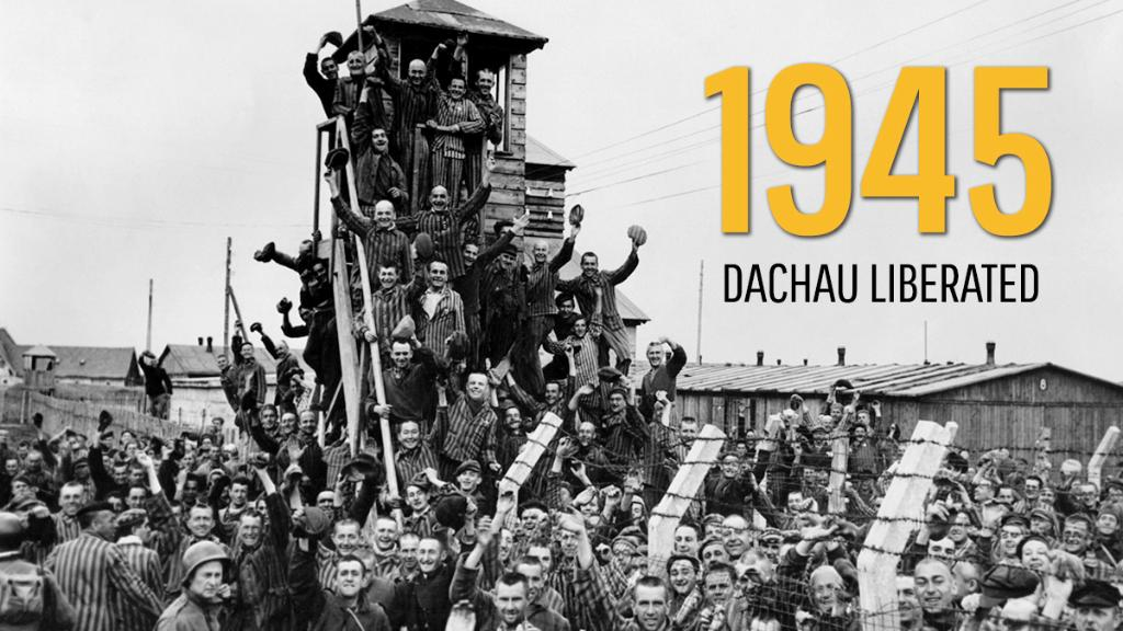 On #ThisDayInHistory 1945, the first concentration camp, Dachau, is liberated. https://t.co/tkWUOaLleA https://t.co/7BzT2yRfgO