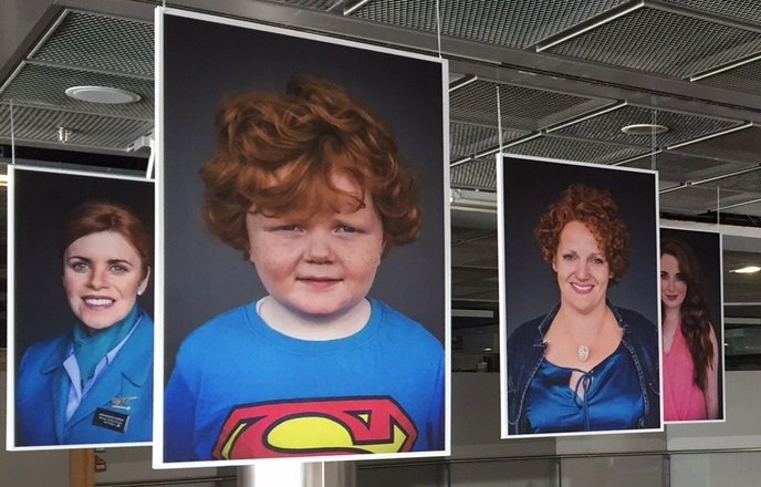 We're delighted to host Jörg Köster's portraits of @IrishRedheads in T1. View the gallery at