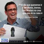 #LaCitaNTN24 @hcapriles asegura que Miraflores no es la casa de Maduro https://t.co/XjdnnUnx5H https://t.co/INVzrL847G