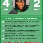 Pray for India Cummings and her family. #roc #justiceforindia #buffalo https://t.co/8ADWq1HMHy