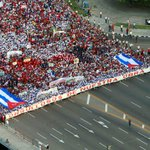 En #Cuba #TodosMarchamos, este #1DeMayo UNIDOS en la construcción del Socialismo .... https://t.co/FGAobM9Hs9