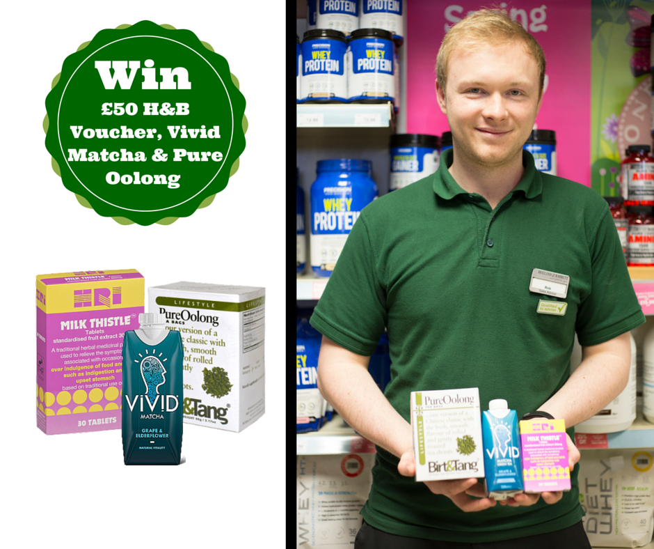 Rob's H&B must-haves are @HRIHerbal, @VividDrinks & @BirtAndTang! To #win share with us your 3 fave H&B goodies! https://t.co/uTrlNALaNf