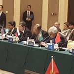 Among the Foreign Ministers of different Asian countries at the 5th CICA ministerial, including FM of Russia, China. https://t.co/3cUMz5hjg0