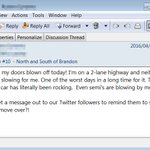 An actual email just received from an #rcmpmb officer. PLEASE slow down & move over when passing emergency vehicles! https://t.co/bWDpBEI0JM
