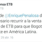 Referente de estupidez, gracias @EnriquePenalosa https://t.co/b49Lh6NGWE