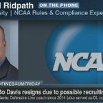 """Alabama is certainly going to have (NCAA) investigators spending time in Tuscaloosa in the near future""- @drridpath https://t.co/zFFPJY5Ngs"