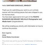 GUYS OMG QUE CARAJOS VOY A LLORAR, SOY FOTOGRAFO DE PACSUN Y BRANDY, ESTO ES REAL??!! https://t.co/2fWAHov0eA