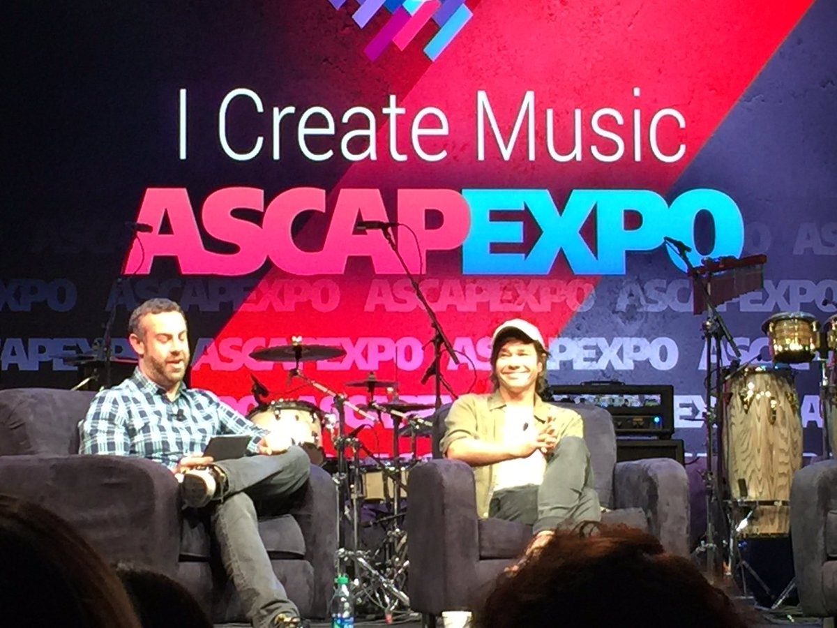 """I love a broken heart. It feels good to FEEL.""   - @nateruessmusic   #ASCAPexpo #createmusic #songsfromthesoul https://t.co/2H6cpDhK74"