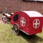Motorcycle ambulances for Ugandan patients in remote areas Credits: Siraj Kalyango via BBC Africa live Comments... https://t.co/jQbQhxiycl