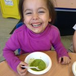 Yummy pea soup to warm us up in Nursery today! https://t.co/wj0VzNIUTQ