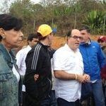 Desde Ramo Verde el gobernador @hcapriles,el diputado @JulioBorges y la Sra @antonietamlopez #TuLibertadEsMiLibertad https://t.co/gQqsLh7NOs
