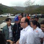 Gob. de Miranda @hcapriles y @JulioBorges ya se encuentran en Ramo Verde #TuLibertadEsMiLibertad https://t.co/YyTYRFoziR