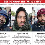 'Frisco Five' on hunger strike to protest #SF police brutality https://t.co/I1rE1RBnqh via @jonahowenlamb https://t.co/XLNaOylUMr