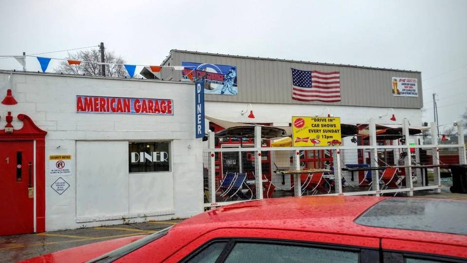 So much to like at american garage bar and diner in lee s for American garage builders