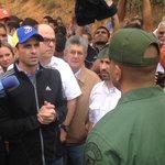 Ya @hcapriles @hramosallup @JulioBorges y @FreddyGuevaraC en Ramo Verde para buscar la firma de @leopoldolopez https://t.co/h931i5Em1J