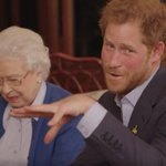 The Queen appears in Prince Harrys challenge to the Obamas in Invictus Games videos https://t.co/8g0dnWPc9v https://t.co/qfgqxwZJMF